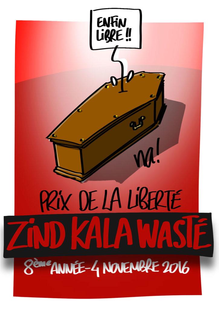 Zind-Kala-Wasté 2016 . Prix de la liberté
