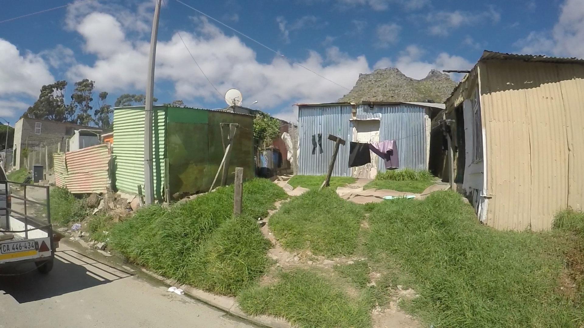 Fire in Imizamo Yethu township