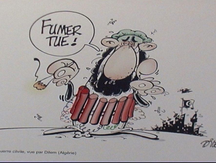 Plantu et son «Cartooning for Peace» •