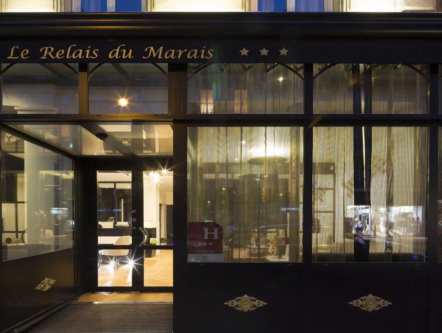 Hôtel dans le 3ème arrondissement de paris