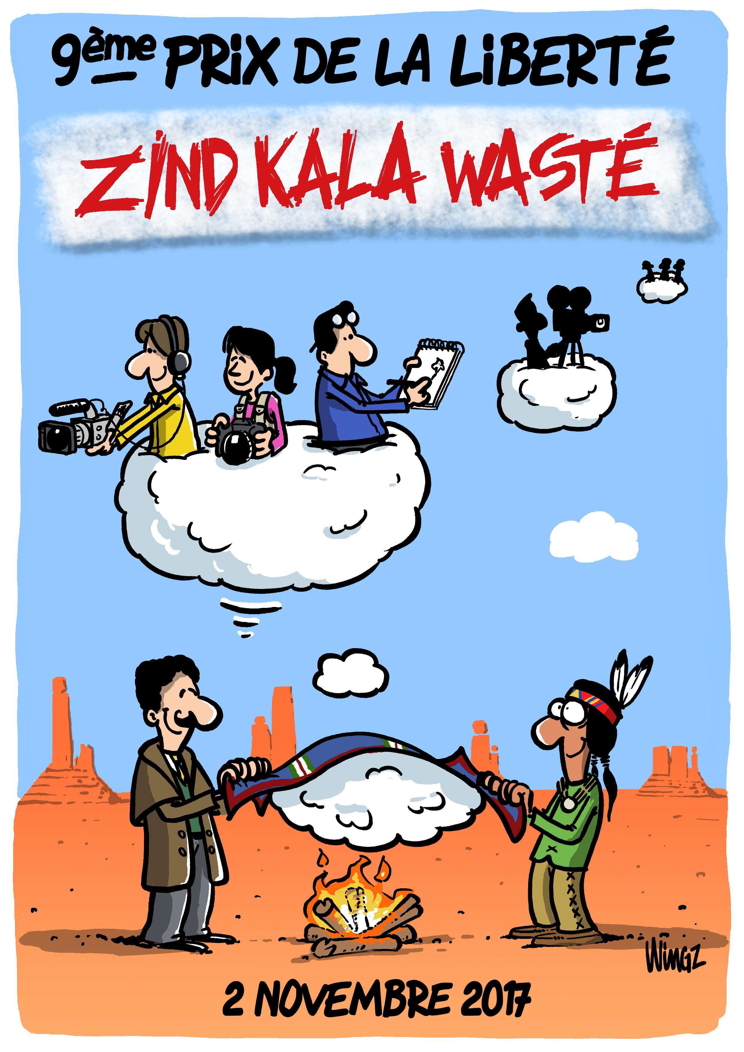 Mellino au Réservoir pour le Zind-Kala-Waste 2017