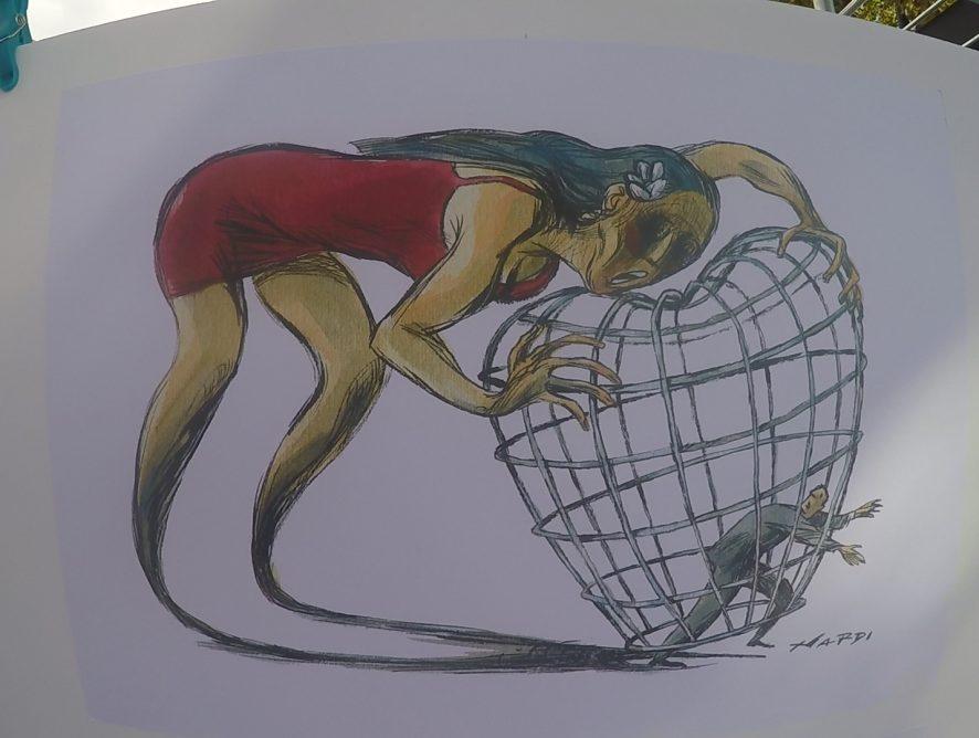 Marilena Nardi - Dessin de presse et caricature