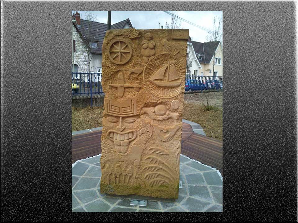 Yann Jost Art2πR sculpteur et tailleur de pierre à Reims